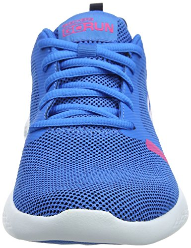 Sportive Run Blue Scarpe Indoor Revel 600 Skechers Donna Go Pink Blu w1x64qCS