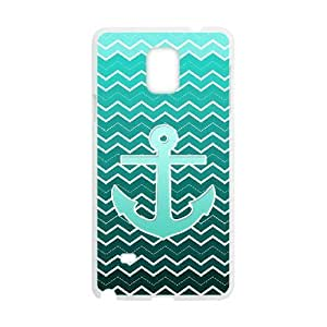 Diy Chevron Anchor Vintage Custom Cover Phone For Case Samsung Galaxy S4 I9500 Cover White Shell Phone [Pattern-6]