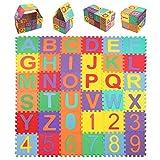 StillCool Baby Foam Play Mat (36-Piece Set) 5.9x5.9 Inches Interlocking Kid's Floor Puzzle Colorful EVA Tiles