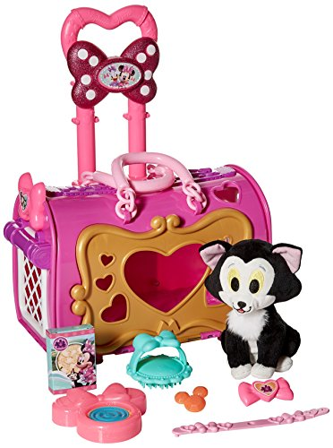 Minnie JPL89350 Happy Helpers Pet Carrier Playset, Pink
