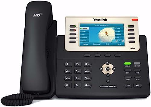 Power Adapter is NOT Included Yealink SIP-T46U IP Phone