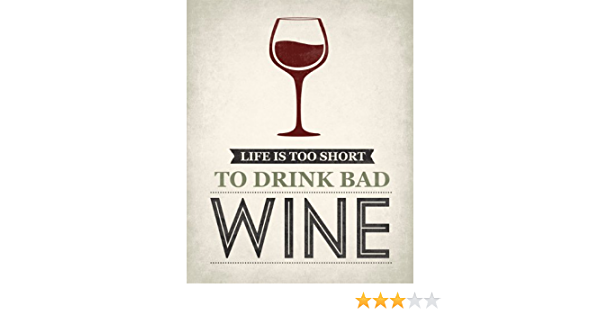 Melamine Drinks Table Coaster Life/'s Too Short to Drink Cheap Wine Wine Diva