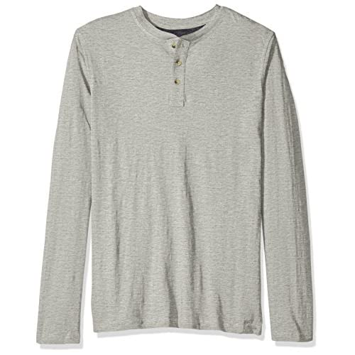 WHITE MOUNTAIN Big and Tall Long Sleeve Waffle Knit Thermal Henley Long Sleeve Shirts