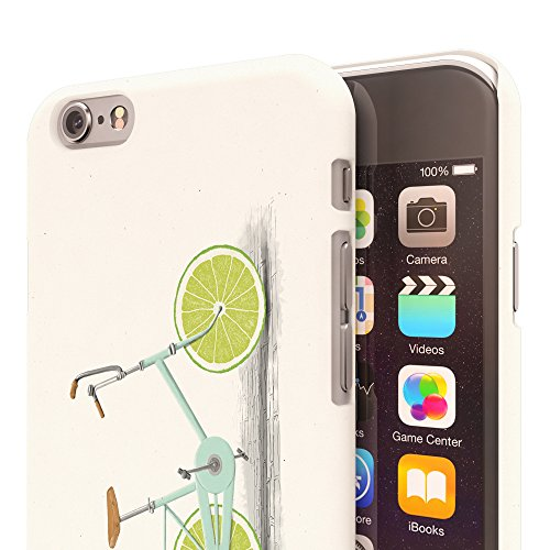 Koveru Back Cover Case for Apple iPhone 6 - Lemon Bicycle