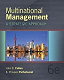 Multinational Management, Cullen, John B. and Parboteeah, K. Praveen, 1285094948