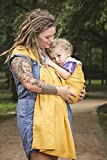 Cheap Bibetts Pure Linen Ring Sling Baby Carrier – CPSIA compliant – Infant, Toddler and Baby Carrier (Bamboo Yellow)