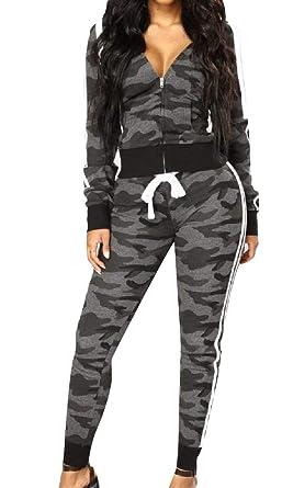 Energy - Pantalones de chándal para Mujer, diseño de Camuflaje ...