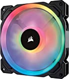 corsair 140mm fan - Corsair LL Series LL140 RGB 140mm Dual Light Loop RGB LED PWM Fan Single Pack Cooling CO-9050073-WW