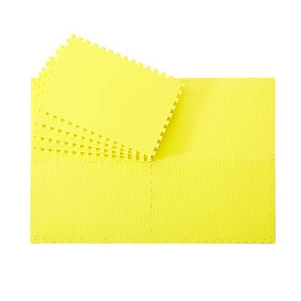 MUMA プレイマット、クロールマット イエロー、カーペット 2.0cm(4pieces/pack)、PE、環境保護滑り止め - 60 MUMA* 90* 2.0/ 2.5cm(4個/パック) (色 : Green, サイズ さいず : 2.5cm(4pieces/pack)) B07NNX6JTM 2.0cm(4pieces/pack)|イエロー いえろ゜ イエロー いえろ゜ 2.0cm(4pieces/pack), ヒダカシ:27edbe00 --- m2cweb.com