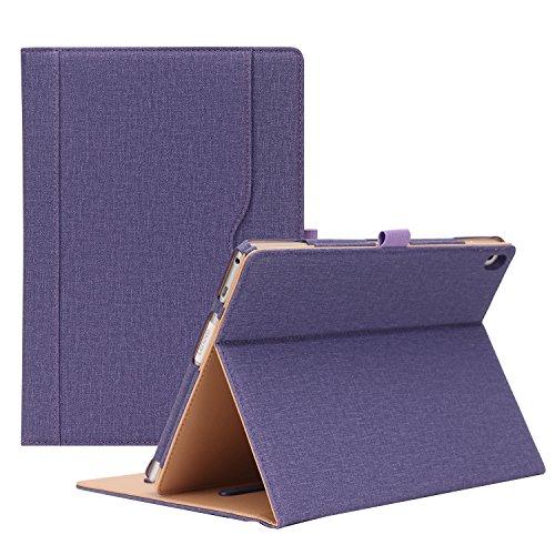ProCase Lenovo Tab 4 10 Case - Stand Folio Case Protective Cover for Lenovo Tab 4 Tablet 10.1 Inch 2017 Release ZA2J0007US -Purple