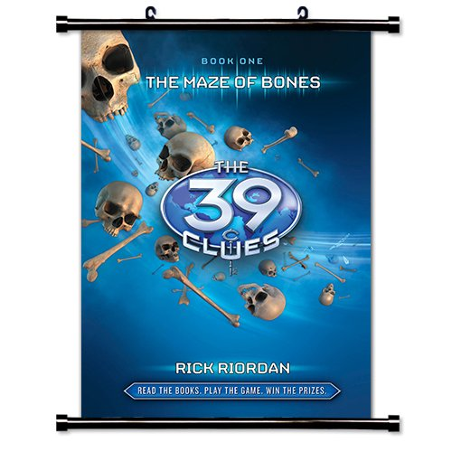 The Maze of Bones: 39 Clues  Fabric Wall Scroll Poster  Inch