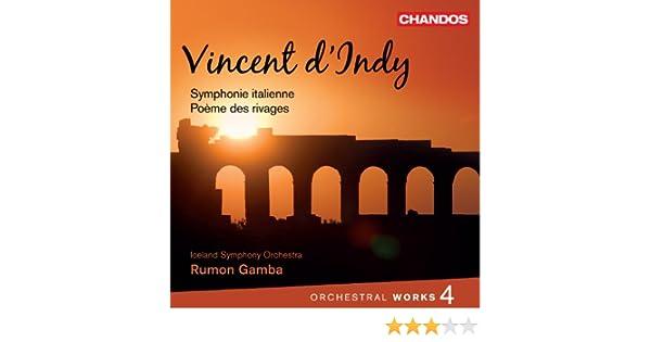 Vincent dindy orchestral works vol 6