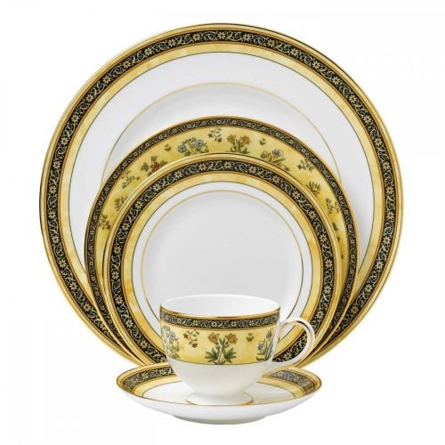 Wedgwood India 5-Piece Dinnerware Place Setting, Service for 1 by Wedgwood