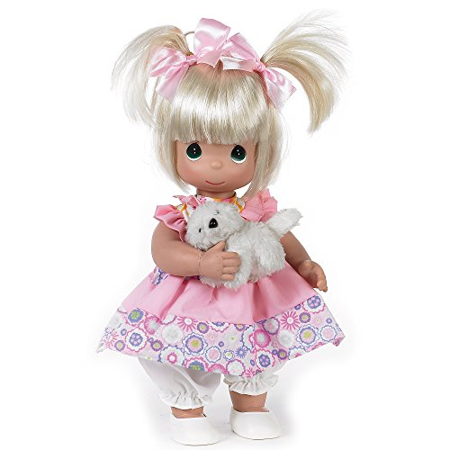 The Doll Maker Precious Moments Dolls, Linda Rick, Fur-Ever Friends, 12 inch Doll