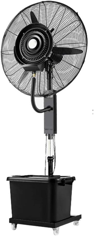 Nebulizador de Agua Ventilador de Niebla Ventilador de Piso ...