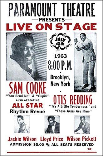 (Nostalgia Print Otis Redding and Sam Cooke at The Paramount Theatre 14
