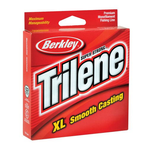 Berkley Trilene XL Smooth Casting Monofilament Service Spools (Berkley Trilene XL), 2 LB. - Clear (Service Spool)
