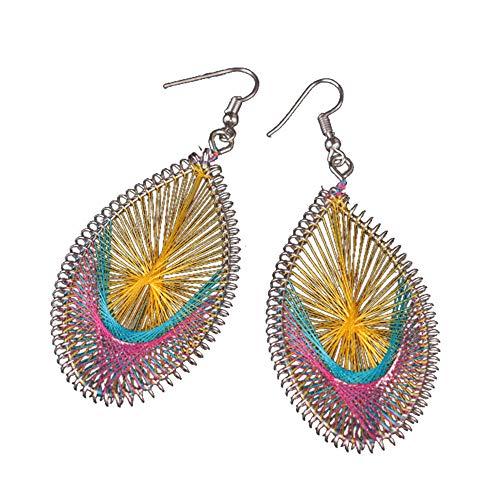 Sexy Earrings,1Pair Fashion Women Alloy Stud Dangle Earings Eardrop Jewelry New YE,Yellow