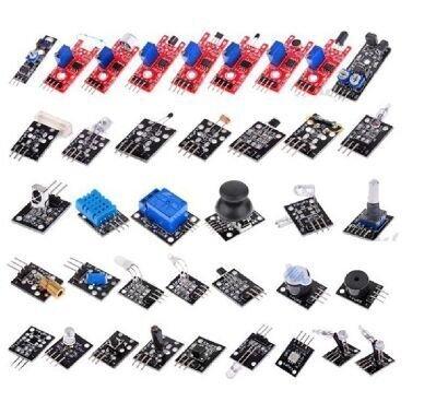 CJRSLRB 37 in 1 Box Sensor Module Kit Set For Arduino Starters keyes brand raspberry pi good quality
