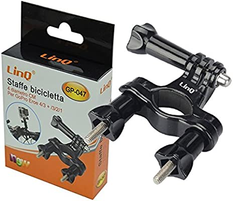 Cámara de acción bicicleta de aluminio Cámara Soporte para GoPro ...