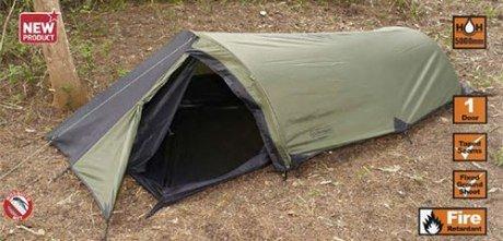 Snugpak Tent Ionosphere 1 Person Includes Lightweight Aluminum Poles 5000mm Polyurethane Coating, Outdoor Stuffs
