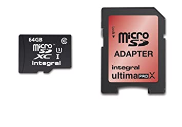 Integral 64GB Micro SDXC 64GB MicroSDXC UHS Class 10 memoria ...