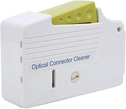Caja de Limpieza de Fibra óptica, Kit de terminación de Fibra Kit de Limpieza de Fibra