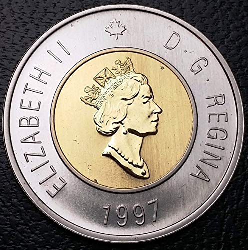 Unbranded 1997 Canada 2 Dollars TOONIE PL from Proof Like SETGREAT Condition