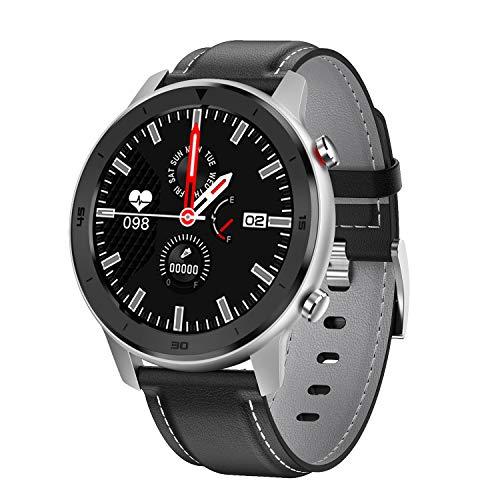 Popglory Smart Watch, IP68 Waterproof Fitness Tracker with Heart Rate Monitor, Activity Tracker,Step Counter Sleep Tracker Watch, Blood Pressure Monitor,Stopwatch Smartwatch for Women Men