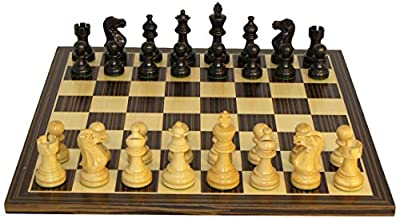 American Emperor Chess Set, Black
