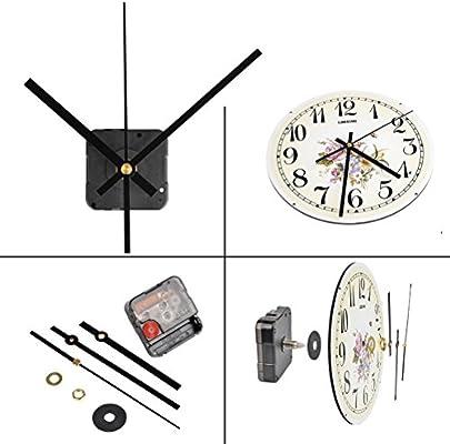 Quiet version Replacement Quartz Clock movement motor mechanism plus battery