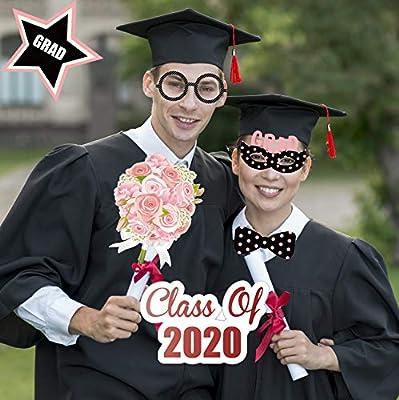 Doctor Nurse Graduation Party Supplies 37Count Graduation Decorations for 2020 Graduation Party Supplies Sayala Nurse Graduation Photo Booth Props