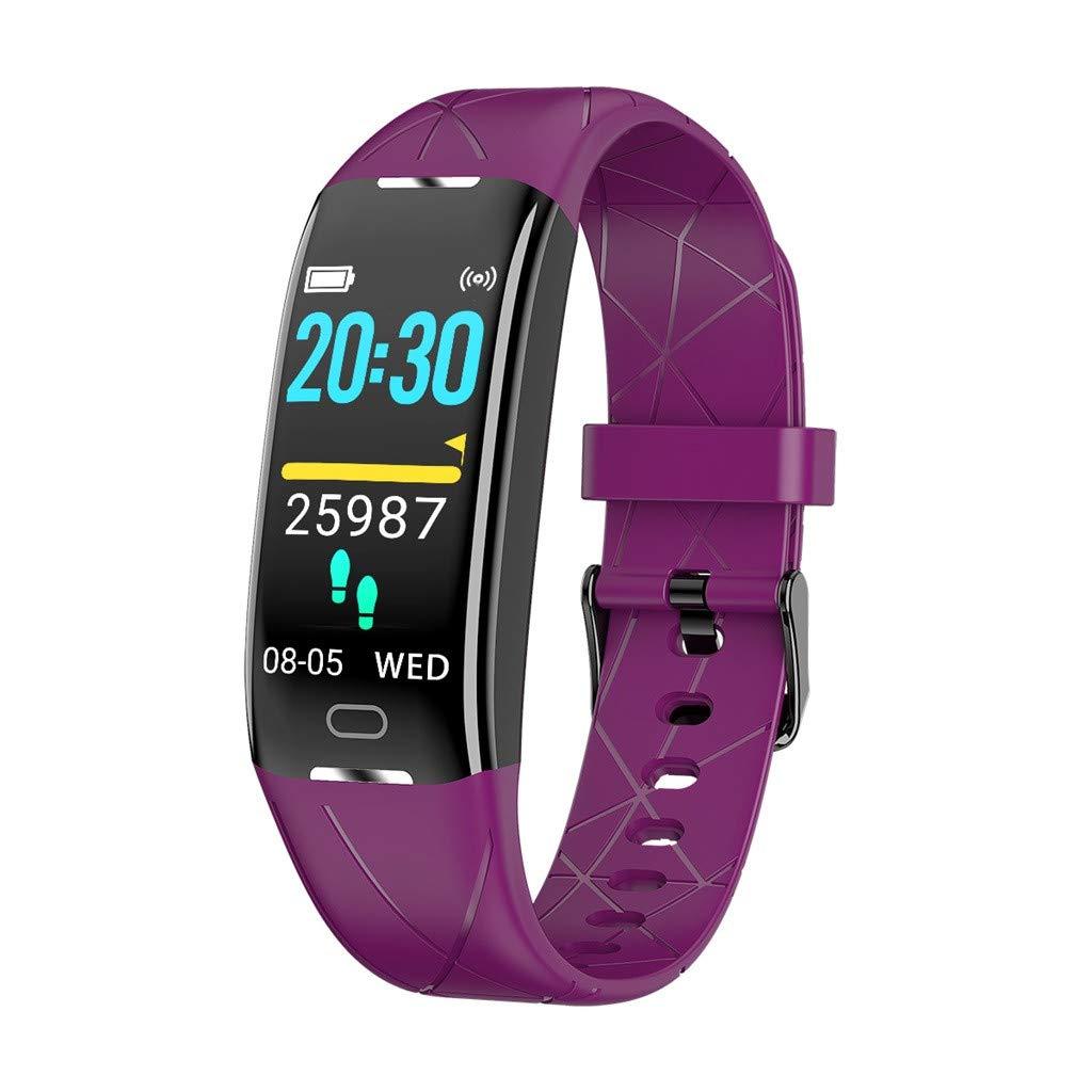 Smart Watch Blood Pressure Heart Rate Monitor Sleep Sports Fitness Tracker Multifunctional Watch Waterproof