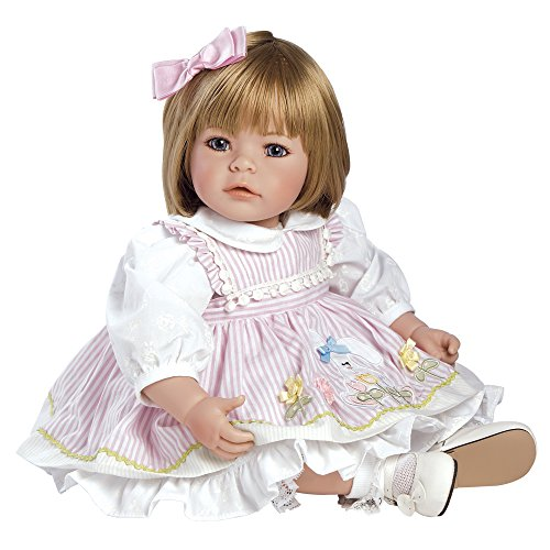 """Adora Toddler Pin-A-Four Seasons 20"""" Girl Weighted Doll Gift Set for Children 6+ Huggable Vinyl Cuddly Snuggle Soft BodyToy"""