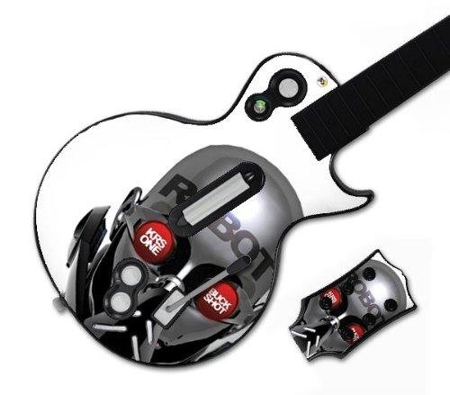 MusicSkins MS-BUCK20026 Guitar Hero Les Paul- Xbox 360 & PS3- Buckshot & KRS-One- Robot Skin