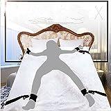 Meili Bondage Fetish Restrains Bed System Sm Set