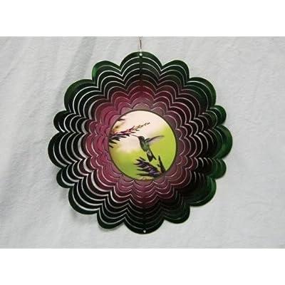 Holographic Hummingbird Spinner: Garden & Outdoor