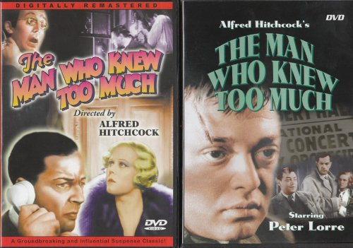 Knew Dvd (The Man Who Knew Too Much)
