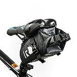 ROSWHEEL DRY Series Bicycle Cycling Bag Full Waterproof PVC Rear Tail Saddle Bag