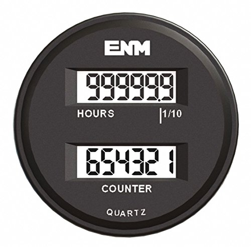 (Hour Meter/ Counter, 6 Digits, LCD)