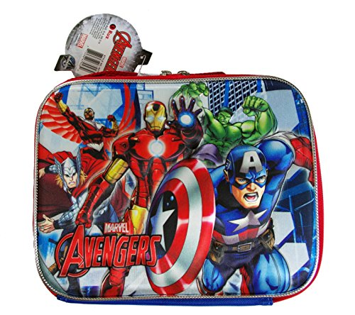 AVENGERS 3-D LUNCH KIT WITH LONG STRAP (Ironman Lunch Box)