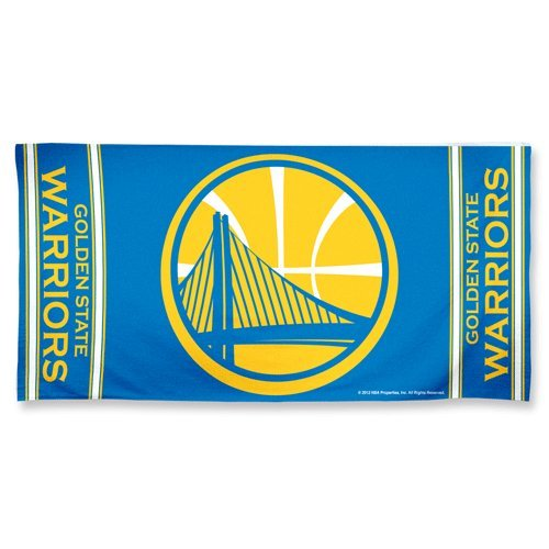 NBA Golden State Warriors Fiber Reactive Beach Towel