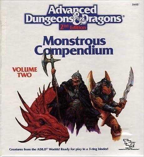Monstrous Compendium: Dragonlance Appendix (Advanced Dungeons and Dragons)