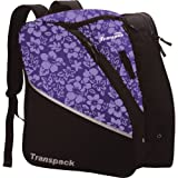 Transpack Edge Junior Ski Boot Bag - Purple Floral