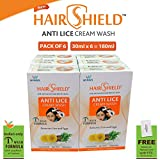 Hairshield Hairshield Anti Lice Cream Wash 30 Ml X Pack Of 6