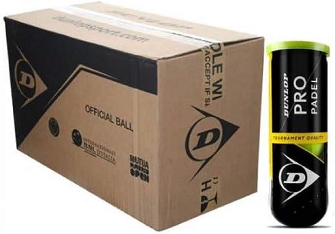 Dunlop Pelotas Padel Pro Padel Caja 24x3: Amazon.es: Deportes y aire libre