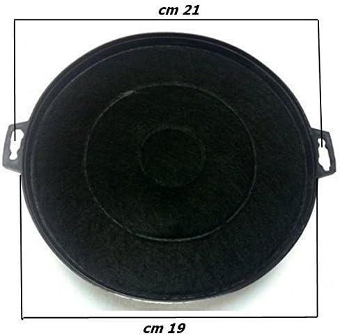 Falmec - Filtro para campana extractora de carbón activo - Dimensiones: 21 cm - Ideal para campanas Candy, Baraldi, Zanussi, Fagor, etc: Amazon.es: Hogar