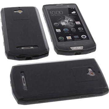 foto-kontor Funda para Blackview BV8000 Pro Protectora de Goma TPU para móvil Negra