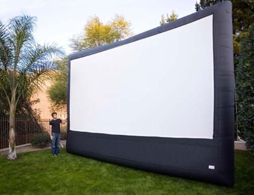 Open Air Cinema P16 16' x 9' Inflatable Pro Theater Projection Screen