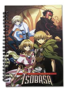 Tsubasa Chronicles - All Heroes Notebook Sketch Book Con-Hon 50 pages Original & Licensed includes FREE Delivery